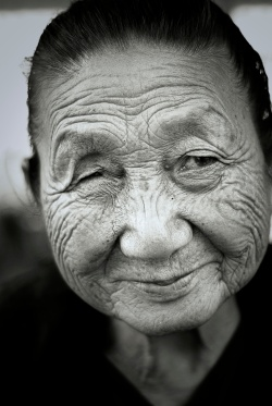 Old Burmese Lady.2