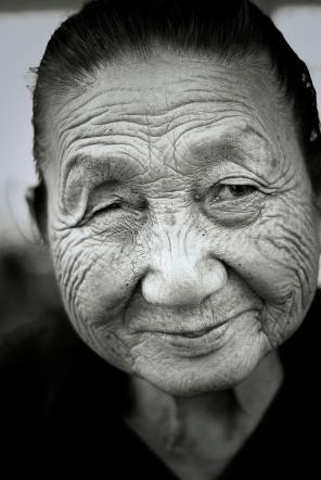 Old Burmese Lady.2