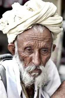 Old Indian Man - Version 2