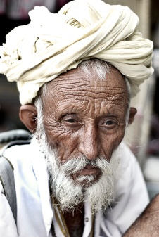 Old Indian Man - Version 2