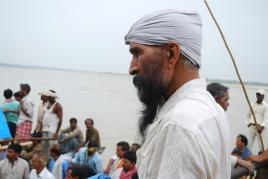 onlooker at a hindu funeral - Version 2
