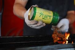 Squid skewers..... Tunxi, China - Version 2