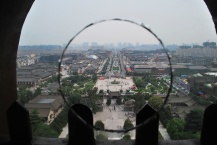 View from the Big Goose Pagoda, Xian, China - Version 2