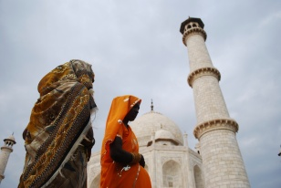 women at the taj - Version 2
